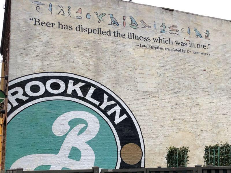 Die Brooklyn Brewery und ein Weizenbock aus Kelheim
