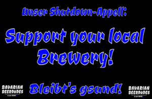 Support your local Brewery!